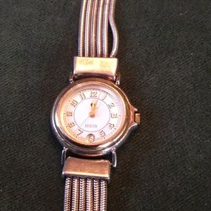 Ecclissi sterling solid 925 silver watch